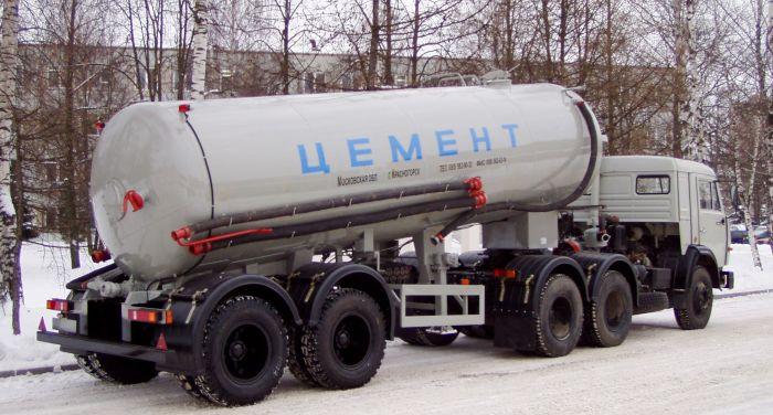 Полуприцеп цементовоз