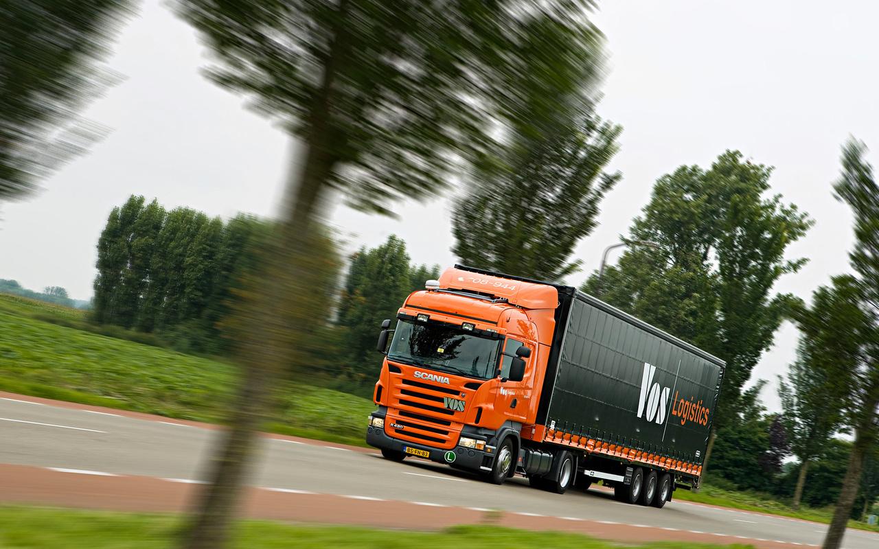 Scania полуприцеп